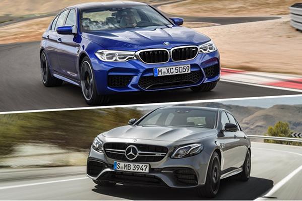 Yeni nesil BMW M5 ile Mercedes E63 S AMG karşı karşıya!