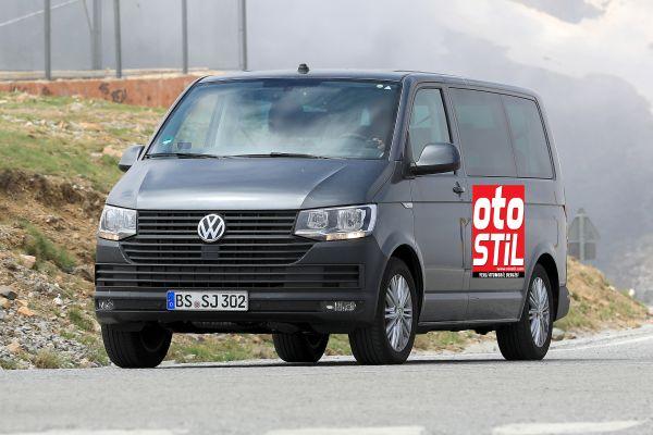 Yeni VW Transporter'ı kamuflajsız yakaladık