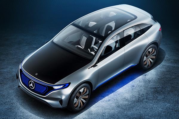 Mercedes konsept otomobili EQ için yeni video yayınladı
