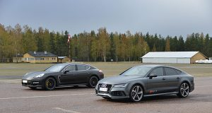 Panamera Turbo vs Audi Rs7