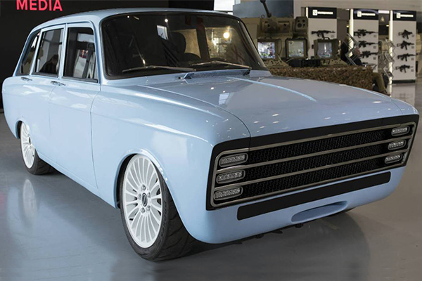Silah üreticisi Kalaşnikof elektrikli otomobil üretti