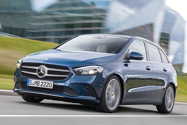 Mercedes B Serisi yeni motorları sayesinde zirveyi istiyor