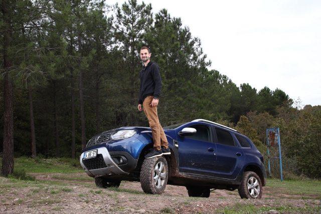 SUV ile arazi macerası