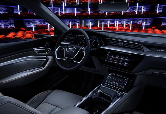 Audi e-tron multimedya