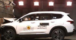 Hyundai Santa Fe çarpışma testi