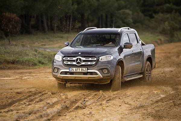 Mercedes X-Class test