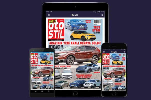 otostil Ocak sayısı Turkcell Dergilik uygulamasında