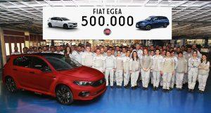 Fiat Egea 500 Bin üretildi