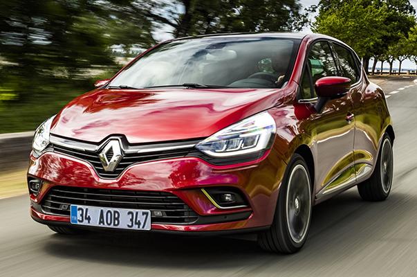 Renault Clio HB test