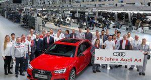 Audi A4 25 yıl