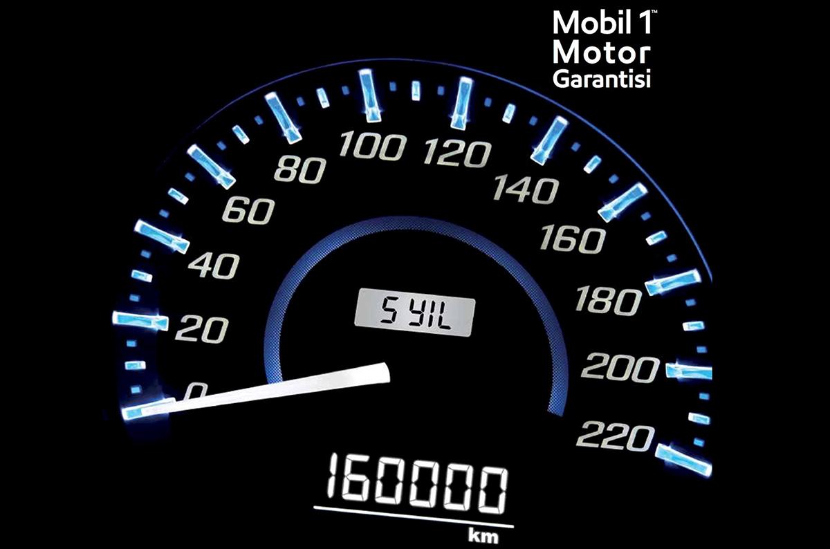 Garanti bitse de Mobil 1'de 5 yıl garanti var