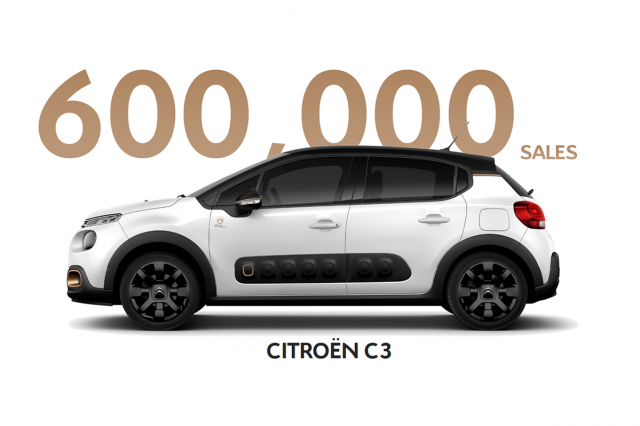 Citroen C3 satış rakamı