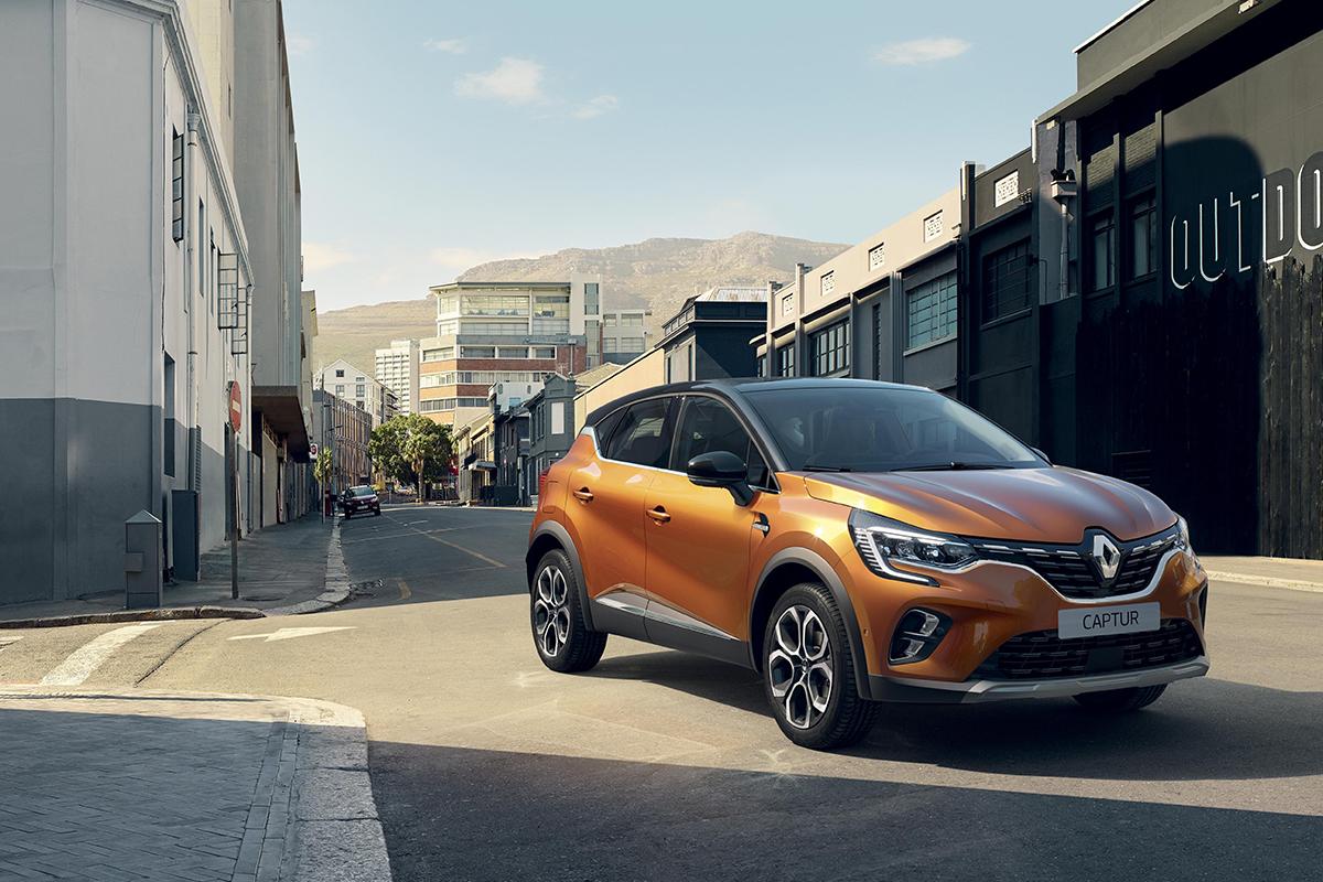 Renault Captur yeni yüzü ve yeni motor seçenekleriyle geliyor