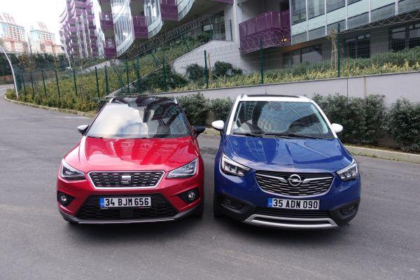 Şehrin haylazları iş başında: Opel Crossland X Seat Arona'ya karşı