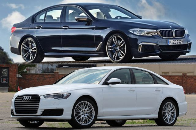 BMW 530d vs Audi A6 BiTDi