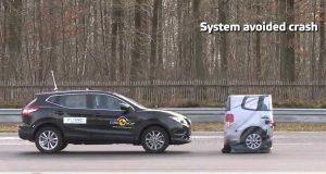 Nissan Qashqai çarpışma testi