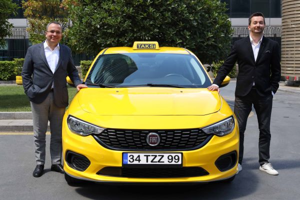 Fiat ve BiTaksi Covid-19'a Kabinli Egea ile dur dedi