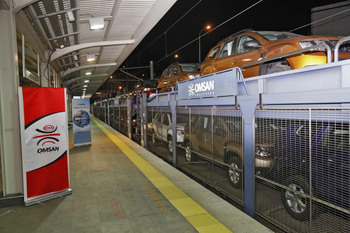 Omsan Dacia otomobilleri yerin altından taşıdı