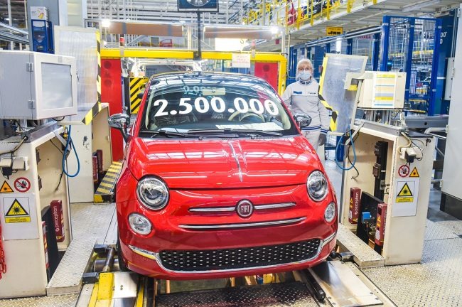 Fiat 500 2.5 Milyon üretim