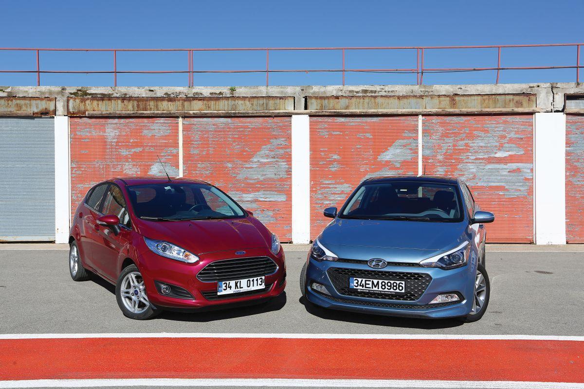 İkinci elde hangi küçüğü seçersin? Ford Fiesta mı Hyundai i20 mi?