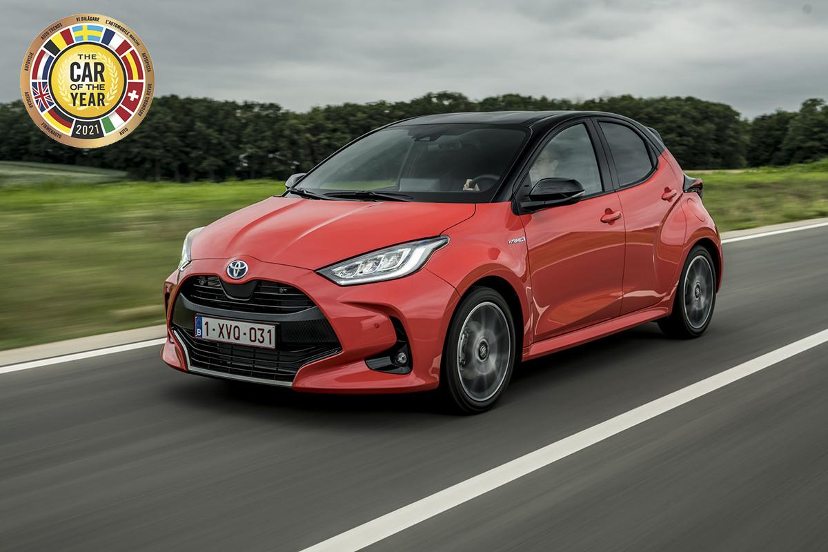 Car of the Year 2021 ödülü Toyota Yaris'in oldu