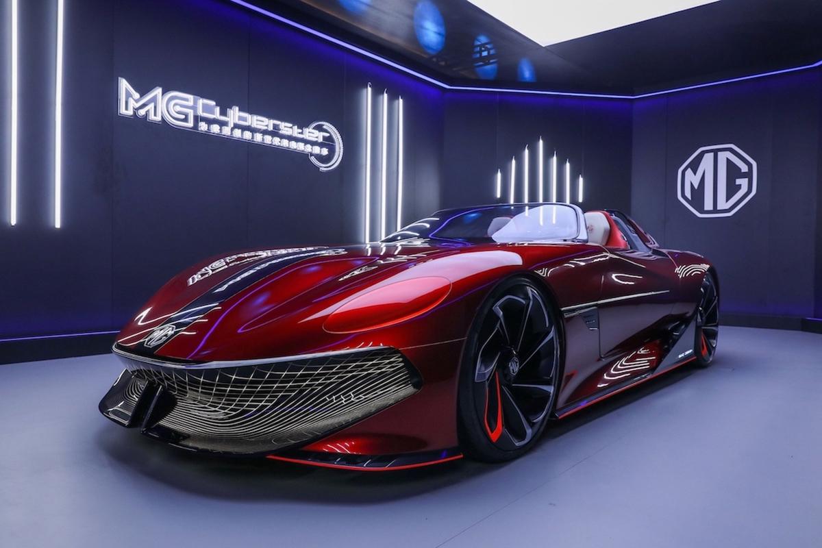 800 km menzilli elektrikli roadster MG Cyberster geliyor!