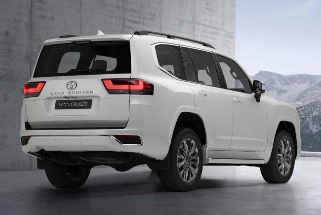 Yeni Toyota Land Cruiser
