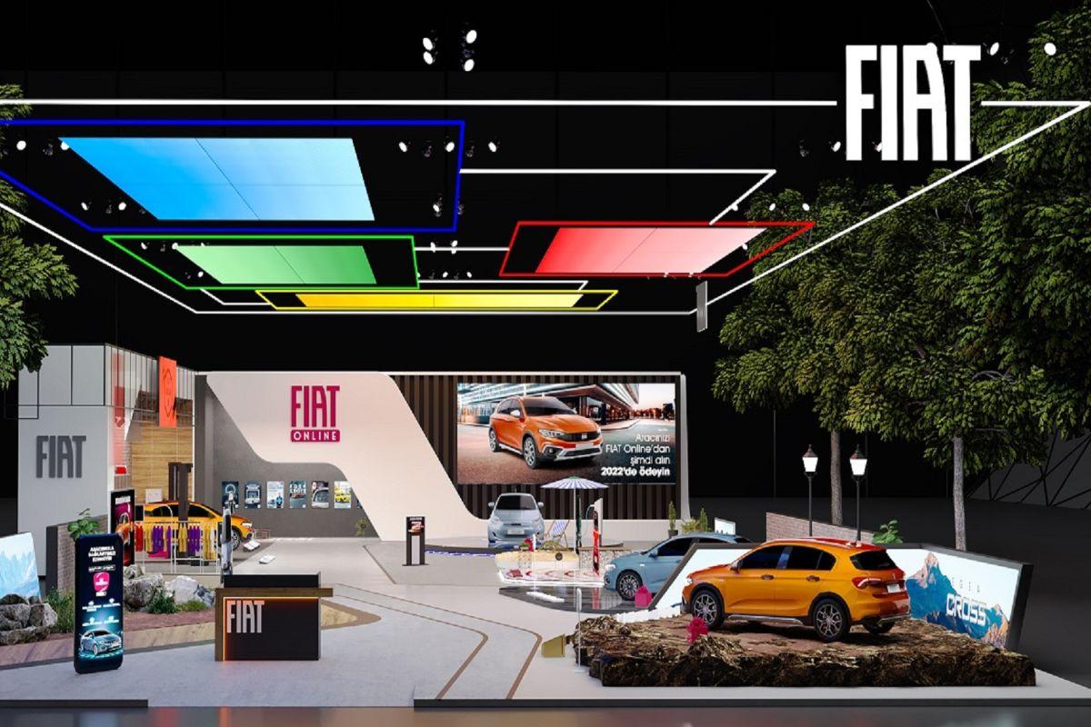 Fiat dijital fuarda Egea Cross Extreme sürprizi ile show yapıyor